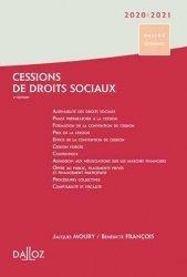 Cessions de droits sociaux 2018/2019. 2e édition