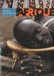 Ce que nous devons à l'Afrique