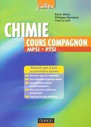 Chimie cours compagnon MPSI - PTSI