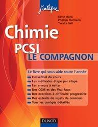 Chimie  PCSI Le compagnon