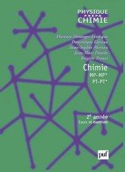 Chimie MP-MP* PT-PT*, 2e année