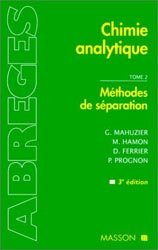 Chimie analytique Tome 2