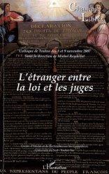 Champs Libres N° 7 : L'étranger entre la loi et les juges