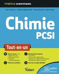 La couverture et les autres extraits de L'épreuve orale du CAPES de chimie