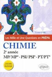 Chimie MP MP* PSI PSI* PT PT*