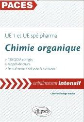 Chimie organique PACES UE1 et UE spe PHARMA