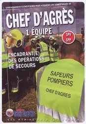 La couverture et les autres extraits de chef d'equipe de sapeur-pompier SPV - SPP
