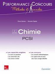 La couverture et les autres extraits de Chimie MPSI - PTSI  1ère année