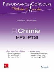 La couverture et les autres extraits de Chimie 1ère année PCSI