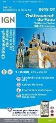 La couverture et les autres extraits de Plougastel-Daoulas Le Faou. 1/25 000