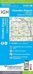 La couverture et les autres extraits de Auvergne, Limousin. 1/200 000, Edition 2016