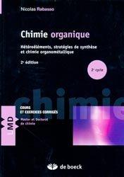 La couverture et les autres extraits de Chimie organique