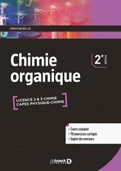 chimie organique / cours et exercices corrigés : licence et capes