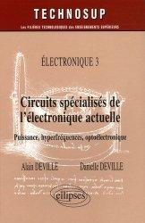 Circuits spécialisés de l'électronique actuelle