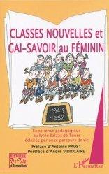 Classes nouvelles et gai-savoir au féminin