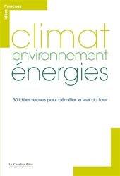 Climat, environnement, énergies