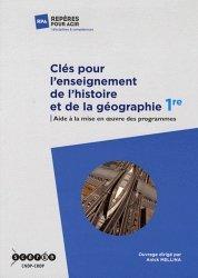 Clés pour l'enseignement de l'histoire et de la géographie