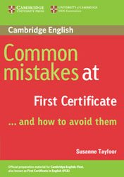 Common Mistakes at First Certificate… and How to Avoid Them - Paperback