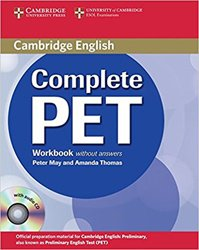 Complete PET - Workbook without answers with Audio CD