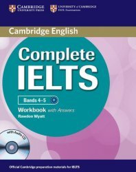 Complete IELTS Bands 4-5 - Workbook with Answers with Audio CD