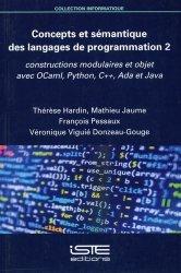 Concepts et sémantique des langages de programmation