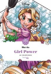 Coloriages anti-stress Disney Girl Power