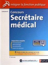La couverture et les autres extraits de Terminologie médicale et physiopathologie Concours Assistant médico-administratif Externe Catégorie B
