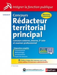 Concours rédacteur territorial principal. Catégorie B, Edition 2014