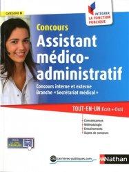 Concours assistant médico-administratif catégorie B, concours interne et externe