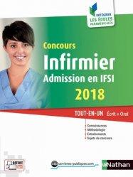 La couverture et les autres extraits de Concours Infirmier 2018 - Entrée en IFSI