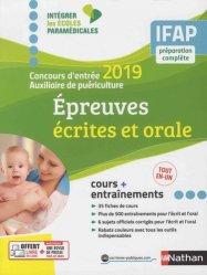 Concours Auxiliaire de puériculture 2019 - écrit + oral
