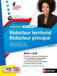 Concours Rédacteur territorial et rédacteur principal Catégorie B