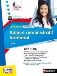Concours Adjoint administratif territorial Catégorie C