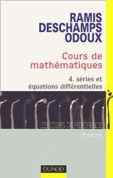 Cours de mathématiques 4 Séries et équations différentielles