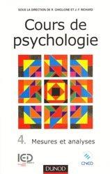 Cours de psychologie - Tome 4