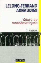 Cours de mathématiques 1 Algèbre