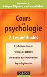 Cours de psychologie - Tome 2