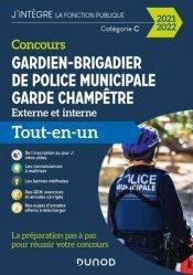Concours Gardien-brigadier de police municipale - Garde champêtre - 2021-2022