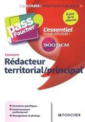 La couverture et les autres extraits de Concours rédacteur territorial/principal