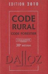 Code rural  Code forestier 2010