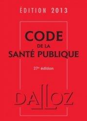 Code de la santé publique 2013
