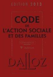 Code de l'action sociale et des familles 2013