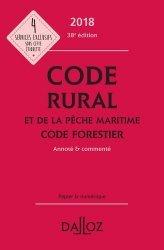 Code rural et de la pêche maritime code forestier 2018