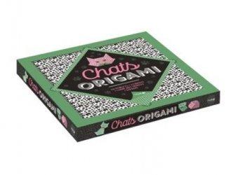Coffret origami chats