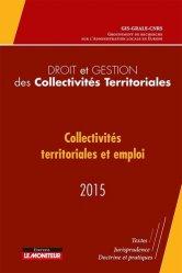 Collectivités territoriales et emploi