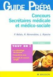 Concours secrétaire médicale et médico-sociale