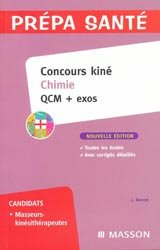 Concours kiné Chimie QCM + exos