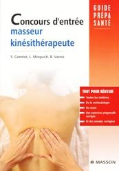 Concours d'entrée masseur kinésithérapeute