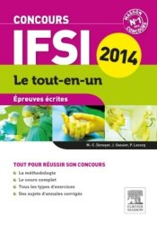La couverture et les autres extraits de Concours IFSI Épreuve orale