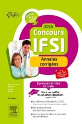 La couverture et les autres extraits de Concours infirmier entrée en IFSI